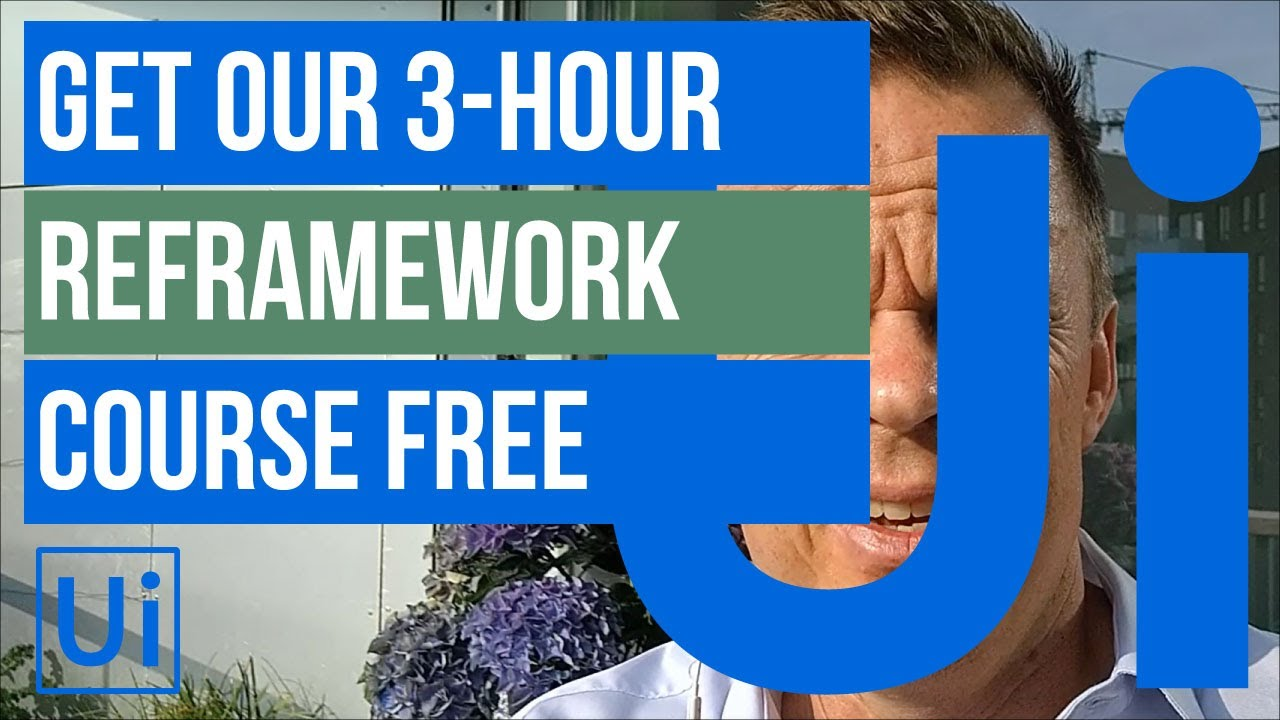 Read more about the article Get our new 3-hour REFramework course